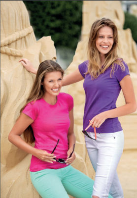 Rövid ujjú női pólók