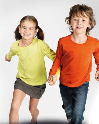 Hosszú ujjú gyerek pólók