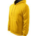 kapucnis-ferfi-pulover-sarga
