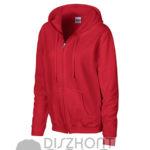 kapucnis-cipzaras-noi-pulover-piros
